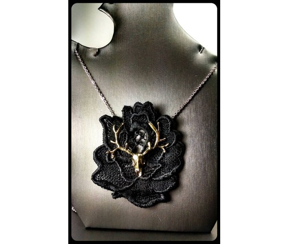 gothic_bronze_deer_skull_black_lace_rose_oddities_stainless_steel_necklace_necklaces_4.jpg