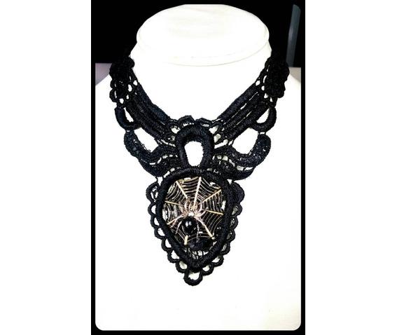 handmade_gothic_silver_spider_bronze_spiderweb_black_lace_choker_necklace_necklaces_5.jpg
