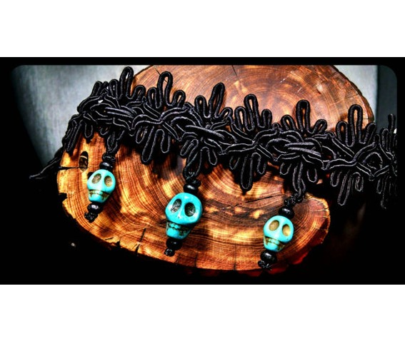 turquoise_howlite_stone_day_dead_sugar_skull_black_lace_choker_necklace_necklaces_4.jpg