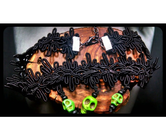 lime_green_howlite_day_dead_sugar_skull_black_lace_choker_necklace_necklaces_4.jpg