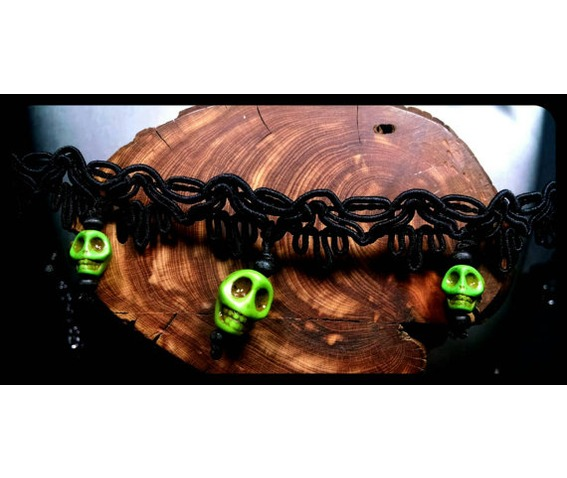sugar_skull_lime_green_howlite_day_of_the_dead_black_lace_choker_necklace_necklaces_4.jpg