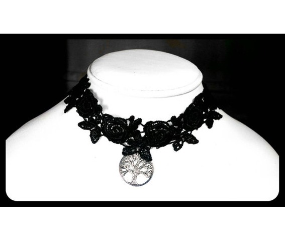 antique_silver_tree_of_life_black_lace_choker_handmade_necklace_necklaces_5.jpg