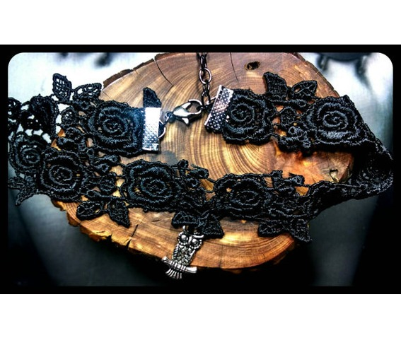 handmade_antique_silver_owl_rose_black_lace_choker_necklace_necklaces_4.jpg