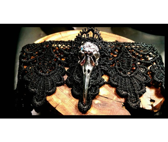 handmade_silver_raven_bird_skull_black_lace_choker_steampunk_necklace_necklaces_5.jpg