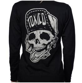 Toxico Clothing Women's Redneck Skull Suicidal Cardigan