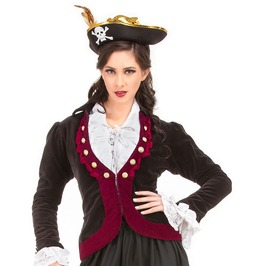 Charlotte De Berry Steampunk Womens Costume Jacket C1357