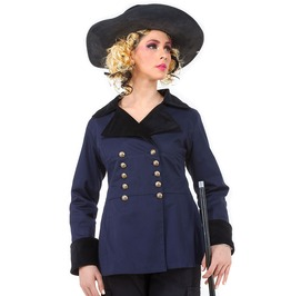 Aristocrat Double Breasted Steampunk Victorian Gothic Womens Jacket C1363