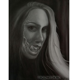 "Ashley's Seduction Original Oil Painting 16"" X 20"""