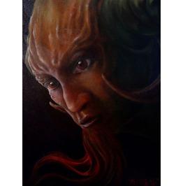 "Awakening Original Oil Canvas 16"" X 20"""