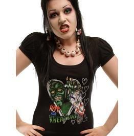 Kreepsville 666 Women's Hot Kreature Monster T Shirt