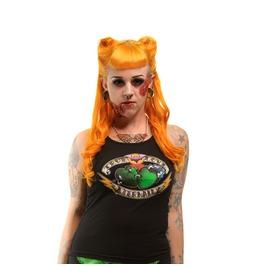 Kreepsville 666 Women's True Love Eternally Psychobilly Tank Top Beater
