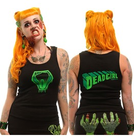 Kreepsville 666 Women's Super Dead Girl Psychobilly Tank Top Beater
