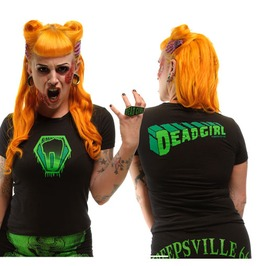 Kreepsville 666 Women's Super Dead Girl Psychobilly T Shirt