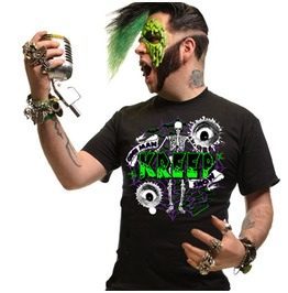 Kreepsville 666 Men's One Man Kreepshow Psychobilly T Shirt