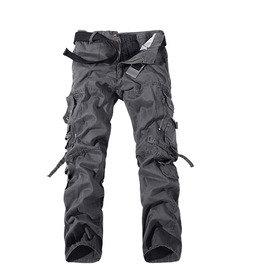 Men's 5 Colors Multi Pocket Cargo Pants