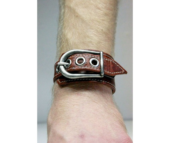 handmade_unique_brown_leather_man_bracelet_bracelets_6.JPG