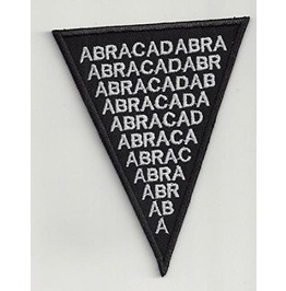Abra Cadabra Embroidered Patch, 2,8 X 4 Inch