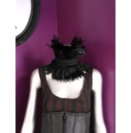 Black Feather Choker