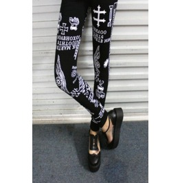 Various Print Tight Leggings