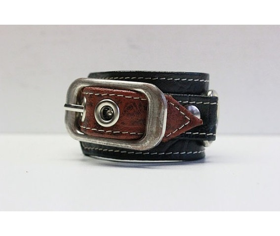 handmade_unique_leather_black_brown_bracelet_bracelets_5.jpg