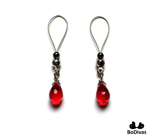 nipple_noose_stainless_red_crystal_drop_hematite_stopper_ball_nipple_rings_4.jpg