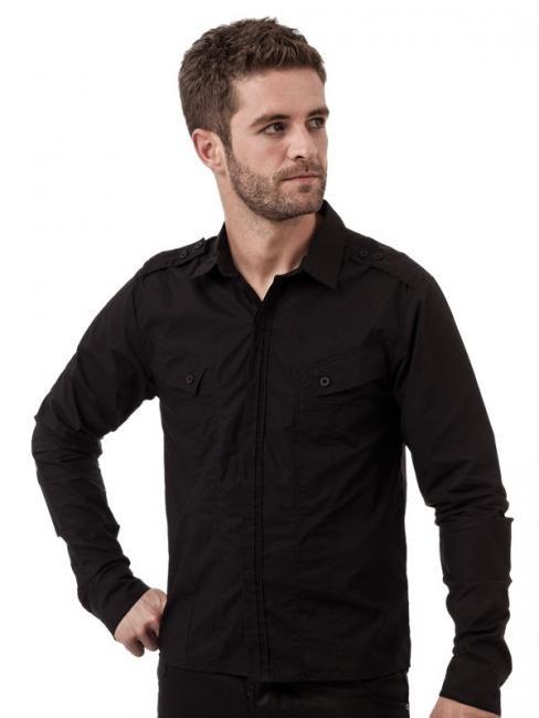 queen_darkness_button_up_shirt_diagonal_pockets_epaulets_shirts_2.jpg
