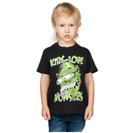 Toxico Clothing Kids Love Monsters Kids T Shirt