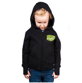 Toxico Clothing Kids Love Monsters Hoodie