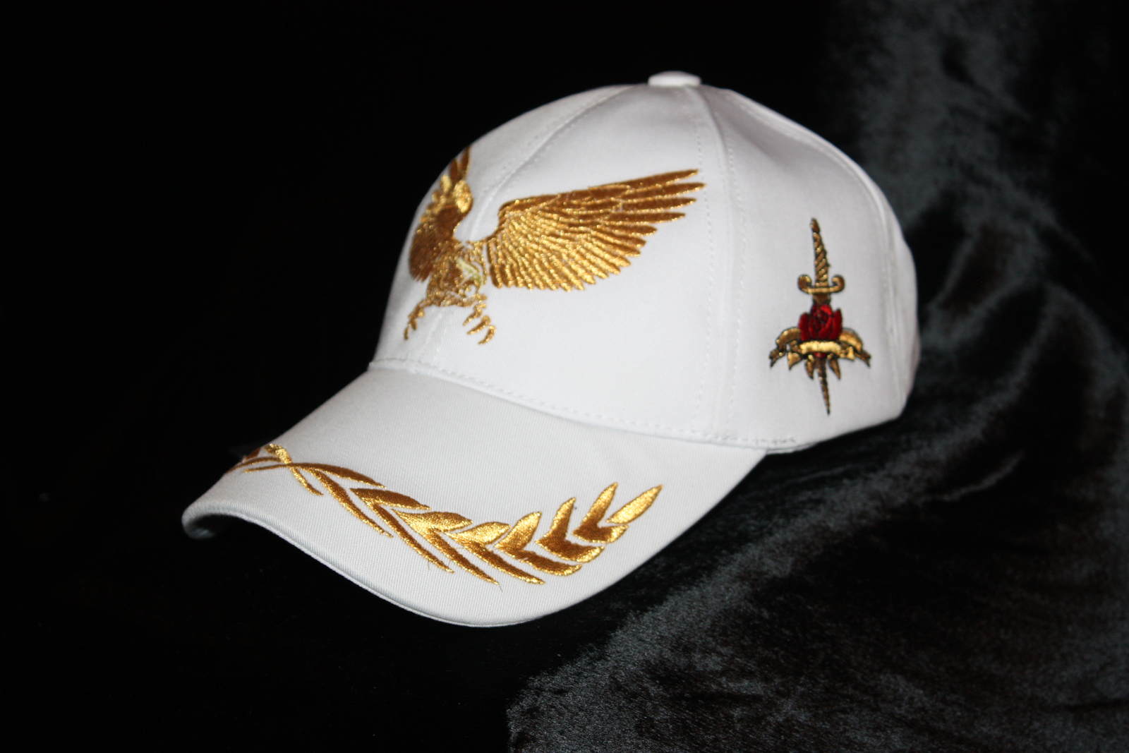 cool_baseball_cap_eagle_golden_white_trucker_hat_glam_rock_urban_wear_hats_and_caps_6.JPG