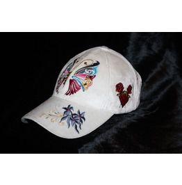 Unique Women Baseball Cap Butterfly Glam Rock Clothing Urban Wear Hat 9974098f63dc