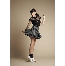 Friday Mind Women's Dallas Polka Dot Skirt