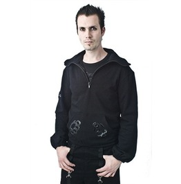 Necessary Evil Knuckle Duster Hoodie Last One In Size Large Free Shipping!