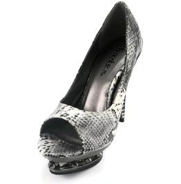Hades Shoes Women's Ripley Viper Skin Steampunk Heels