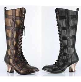 Hades Dome Steampunk Boots