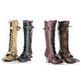 Hades Victorian Vintage Steampunk Boots