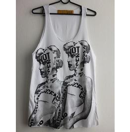 Lady Gaga Electronic Pop Fashion Vest Tank Top M