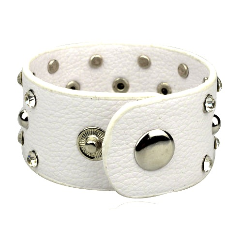 elegant_soft_white_studded_wristband_wrist_and_sweatbands_2.JPG