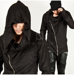 Unbeatable Style Arm Assassins Creed Diagonal Zip Hoodie Ver.2