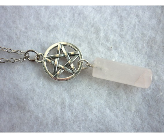 milky_white_pendulum_and_pentacle_necklace_misty_day_wicca_pentagram_stone_necklaces_7.JPG