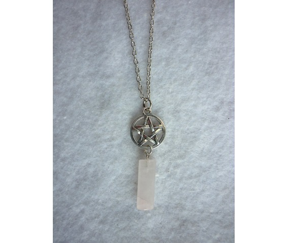 milky_white_pendulum_and_pentacle_necklace_misty_day_wicca_pentagram_stone_necklaces_5.JPG