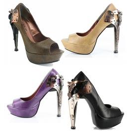 Hades Shoes Titan Stiletto Women's Steampunk Platforms