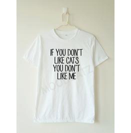 Don't Cats Don't Shirt Cat Shirt Women Men Shirt