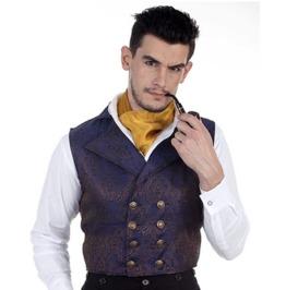 Mens Victorian Steampunk Aristocrat Vest