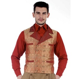 Mens Vintage Curtis Steampunk Coat