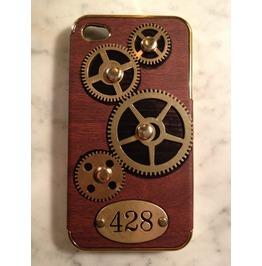 I Gearz Steampunk Apple I Phone 4 S Case Cover Gears Turn