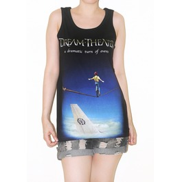Dream Theater Black Tank Top Music Rock Shirt Size M