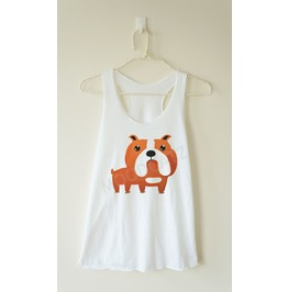 French Bulldog Shirt Bulldog Tshirt Dog Shirt Racer Back Tank Women Shirt