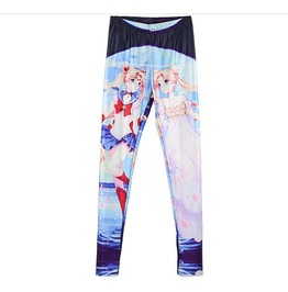 Sailor Moon Usagi Princess Serenity Leggings