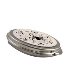 Spider Web Makeup Dual Mirror Compact