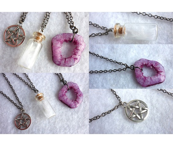 the_white_witch_multi_strand_necklace_pentacle_purple_agate_feather_wicca_necklaces_6.jpg